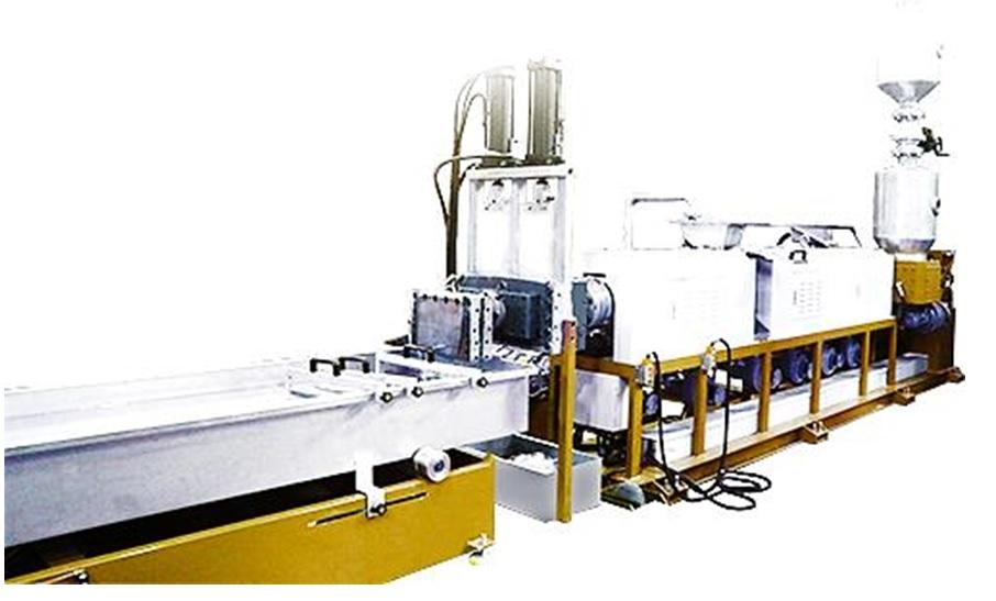 PET Multi Vacuum Extrusion-Pelletizing Line