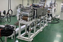 MEDICAL SHEET EXTRUSION MACHINE
