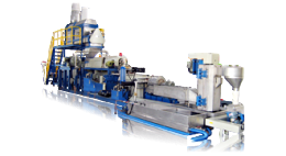 MOTHER & BABY TYPE EXTRUSION PELLETIZING LINE SERIES