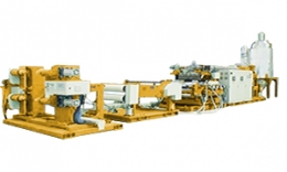 ALL-ELECTRIC-TYPE PLASTIC SHEET MAKING MACHINE