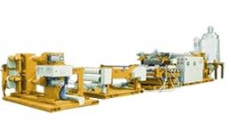 ALL-ELECTRIC-TYPE PLASTIC SHEET MAKING MACHINE