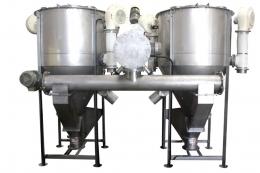 Hot Air Vertical Drying Mixer Tank