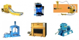 Plastic Cutting Machine, Mixing and Stirring Series