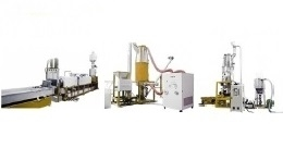 PET Multi Vacuum Extrusion Pelletizing Line Series