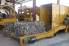 RECYCLING, SORTING & INSPECTION MACHINE