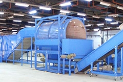 PET BOTTLE HOT WASHING COMPLETELY RECYCLING LINE