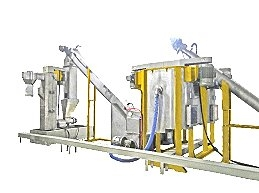 Series Connection Two-Agitating-Shaft Friction Washing Machine