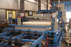 CORRUGATE FORMING SHEET EXTRUSION MAKING MACHINE