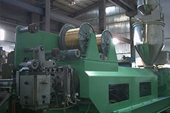 TOOTH FORMING PROFILE EXTRUSION MAKING MACHINE