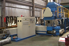 EPS/EPE EXTRUSION-PELLETIZING MACHINE