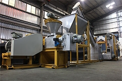 SQUEEZING-DRYING MACHINE FOR FILM, YARN