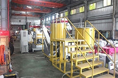 PA FISH NET, WASTE YARN WASHING COMPLETELY RECYCLING LINE