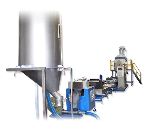 Strand Cutting Extrusion Pelletizing Machines