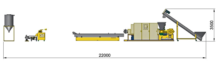 Strand Cutting Extruder