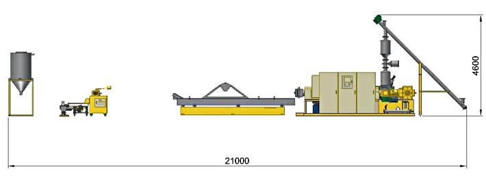 Recycling Machine Demension