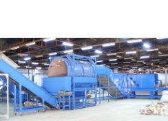 PET Bottle Bale Pre-Processing Cleaning System