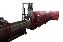 PET FABRIC/YARN RECYCLING PELLETIZING EXTRUDR